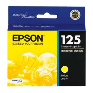 Original Epson T125420 (125 ink) high quality inkjet cartridge - yellow