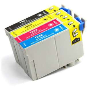 Remanufactured high quality inkjet cartridges Multipack for Epson 126 - 4 pack