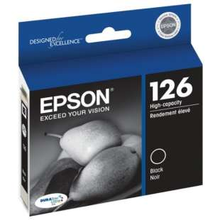 Original Epson T126120 (126 ink) high quality inkjet cartridge - high capacity black