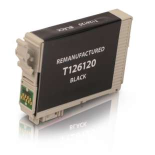 Remanufactured Epson T126120 (126 ink) high quality inkjet cartridge - high capacity pigmented black