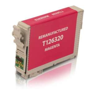 Remanufactured Epson T126320 (126 ink) high quality inkjet cartridge - high capacity pigmented magenta
