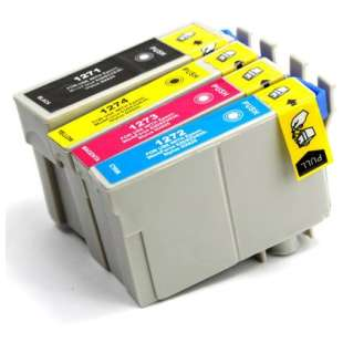 Remanufactured high quality inkjet cartridges Multipack for Epson 127 - 4 pack