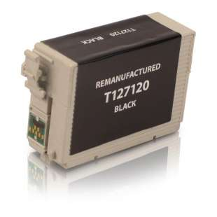 Remanufactured Epson T127120 (127 ink) high quality inkjet cartridge - extra high capacity pigmented black