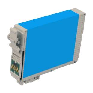 Remanufactured Epson T127220 (127 ink) high quality inkjet cartridge - extra high capacity pigmented cyan