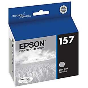 Original Epson T157720 (157 ink) high quality inkjet cartridge - light black
