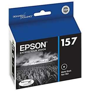 Original Epson T157820 (157 ink) high quality inkjet cartridge - matte black
