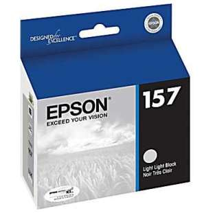 Original Epson T157920 (157 ink) high quality inkjet cartridge - light light black