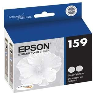 Original Epson T159020 (159 ink) high quality inkjet cartridge - gloss optimizer