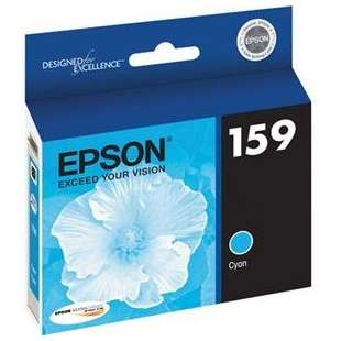 Original Epson T159220 (159 ink) high quality inkjet cartridge - photo cyan
