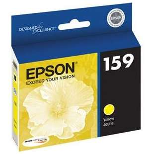 Original Epson T159420 (159 ink) high quality inkjet cartridge - photo yellow