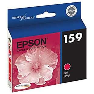 Original Epson T159720 (159 ink) high quality inkjet cartridge - photo red