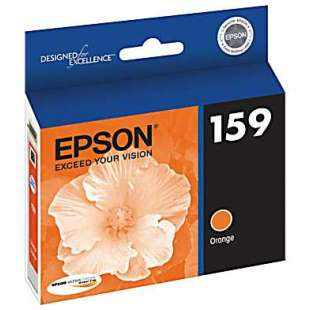 Original Epson T159920 (159 ink) high quality inkjet cartridge - photo orange