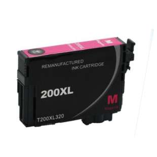 Remanufactured Epson T200XL320 (200XL ink) high quality inkjet cartridge - high capacity magenta (not for Epson XP-310 or Epson XP-410)