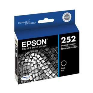 Original Epson T252120 (252 ink) high quality inkjet cartridge - black cartridge