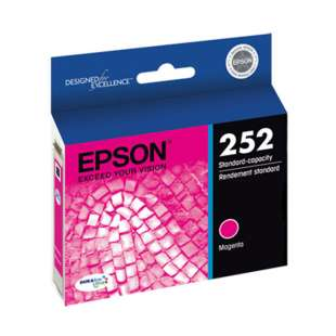 Original Epson T252320 (252 ink) high quality inkjet cartridge - magenta