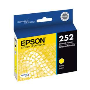 Original Epson T252420 (252 ink) high quality inkjet cartridge - yellow
