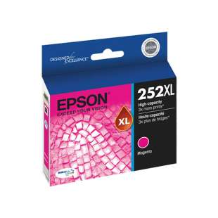 Original Epson T252XL320 (252XL ink) high quality inkjet cartridge - magenta