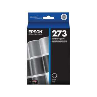 Original Epson T273020 (273 ink) high quality inkjet cartridge - pigmented black