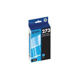 Original Epson T273220 (273 ink) high quality inkjet cartridge - cyan