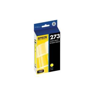 Original Epson T273420 (273 ink) high quality inkjet cartridge - yellow