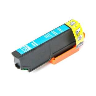 Remanufactured Epson T273XL220 (273XL ink) high quality inkjet cartridge - high capacity cyan