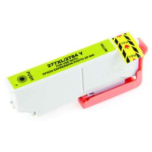 Remanufactured Epson T277XL420 (277XL ink) high quality inkjet cartridge - high capacity yellow