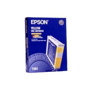 Original Epson T461011 high quality inkjet cartridge - yellow