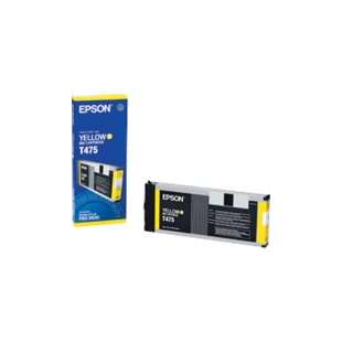 Original Epson T475011 high quality inkjet cartridge - yellow