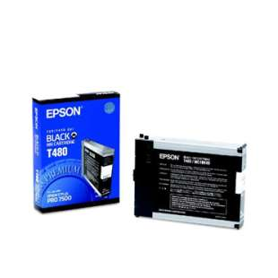 Original Epson T480011 high quality inkjet cartridge - black cartridge