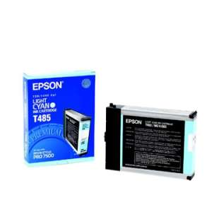 Original Epson T485011 high quality inkjet cartridge - light cyan