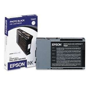 Original Epson T543100 high quality inkjet cartridge - photo black
