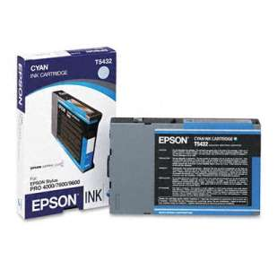 Original Epson T543200 high quality inkjet cartridge - cyan