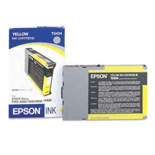 Original Epson T543400 high quality inkjet cartridge - yellow