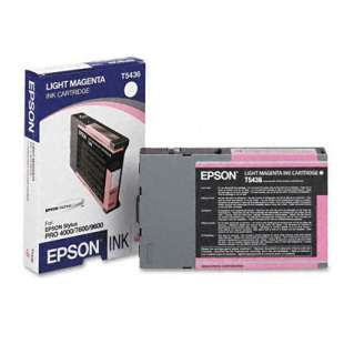 Original Epson T543600 high quality inkjet cartridge - light magenta