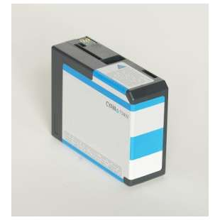 Remanufactured ink cartridge guaranteed to replace Epson T580200 - cyan