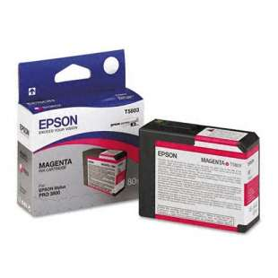 Original Epson T580300 high quality inkjet cartridge - magenta
