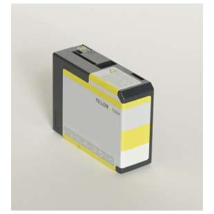 Remanufactured ink cartridge guaranteed to replace Epson T580400 - yellow