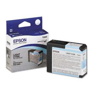 Original Epson T580500 high quality inkjet cartridge - light cyan