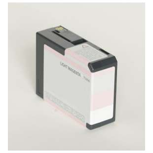 Remanufactured ink cartridge guaranteed to replace Epson T580600 - light magenta