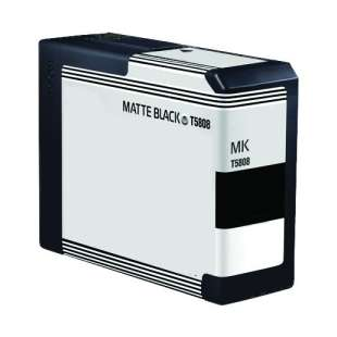 Remanufactured ink cartridge guaranteed to replace Epson T580800 - matte black