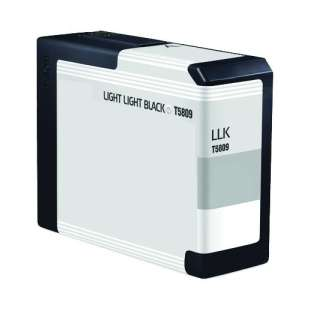 Remanufactured ink cartridge guaranteed to replace Epson T580900 - light light black