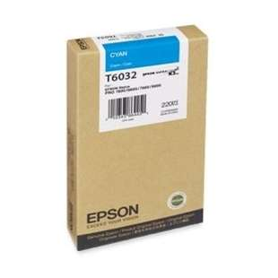 Original Epson T603200 high quality inkjet cartridge - ultrachrome cyan