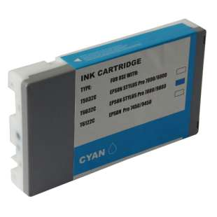 Remanufactured ink cartridge guaranteed to replace Epson T603200 - ultrachrome cyan