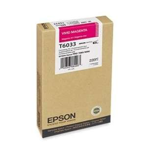 Original Epson T603300 high quality inkjet cartridge - ultrachrome magenta
