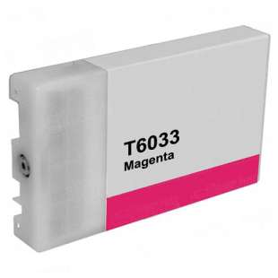 Remanufactured ink cartridge guaranteed to replace Epson T603300 - ultrachrome magenta
