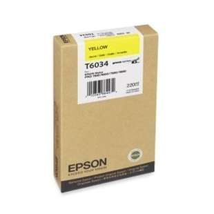 Original Epson T603400 high quality inkjet cartridge - ultrachrome yellow