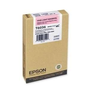 Original Epson T603600 high quality inkjet cartridge - ultrachrome light magenta