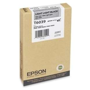 Original Epson T603900 high quality inkjet cartridge - ultrachrome light light