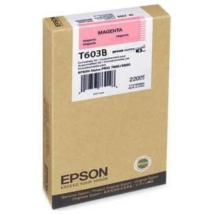 Original Epson T603B00 high quality inkjet cartridge - ultrachrome magenta