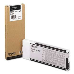 Original Epson T606100 high quality inkjet cartridge - ultrachrome black